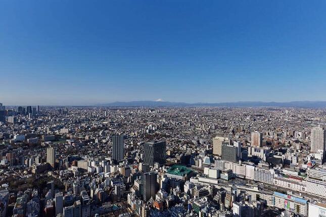 東京の景色を全方位楽しめるサンシャイン60展望台は貸し切りだ