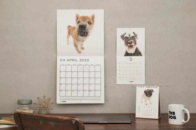 「2022年THE DOGカレンダー」