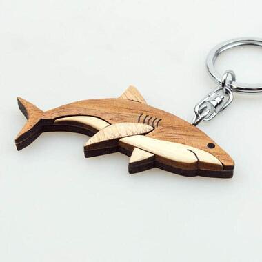 「インレイキーホルダー サメ」(画像はザ・アクセスの提供)