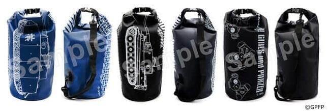 「ガールズ&パンツァー」デザインの本格防水バッグ
