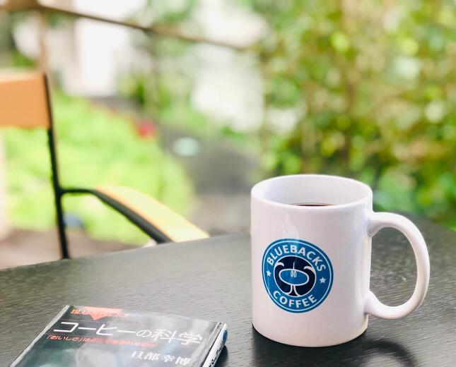「まずはマグカップだけの企画に」とのこと・ブルーバックス提供