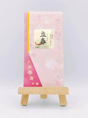 「お値段が高めの高級茶」ほど、よく毛茸が出るそう(提供:おちゃいち山陽堂/「立春」)