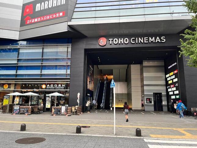 東京・歌舞伎町にある「TOHOシネマズ新宿」