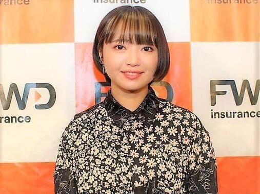 インタビュー中、終始笑顔で応じてくれた矢方美紀さん