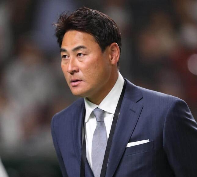 アマチュアゴルフで活躍中の前田智徳さん(写真:YUTAKA/アフロスポーツ)