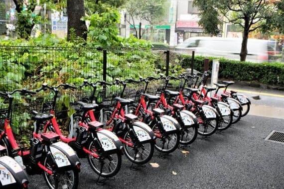 多数の「帰宅困難者」が電動アシスト自転車のシェアサイクルを利用