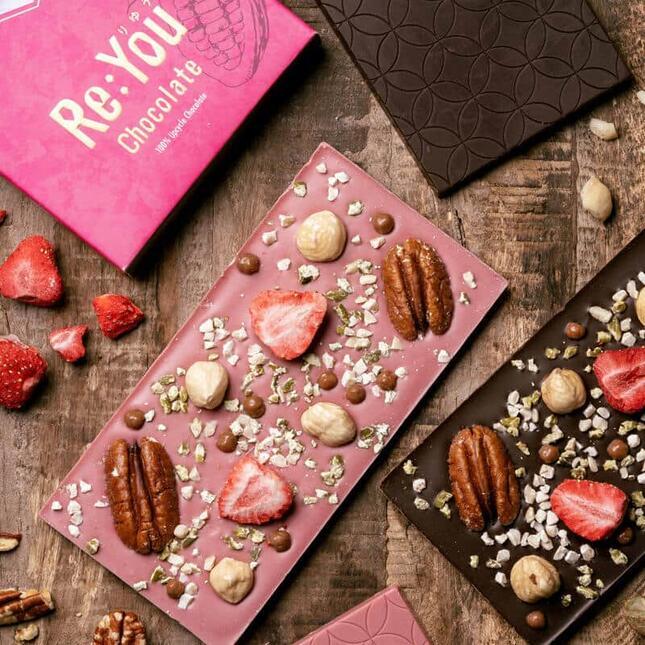 未利用の「余った製菓材料」を使用したチョコレート「りゆう」