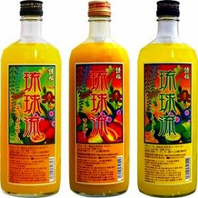 請福酒造が発売した「琉球流シリーズ」