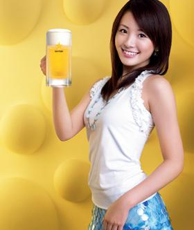 「2008年サッポロビールイメージガール」江頭ひなた