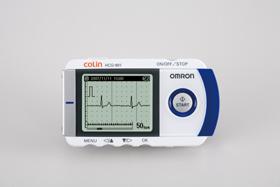 オムロン 「携帯心電計HCG-901」