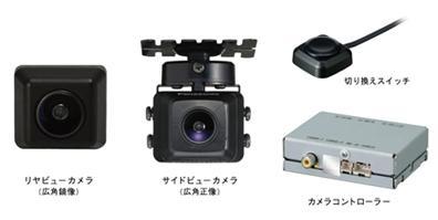 パナソニック オートモーティブシステムズ「マルチカメラシステム」(写真は「CY-MCRS70KD」)