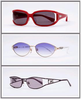 シチズン眼鏡「2008 ユキコ・ハナイ サングラスコレクション」