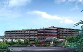 大京「ライオンズ多摩センター 翠彩の杜」完成予想図