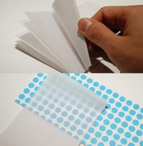 良品計画「貼ったまま読める透明付箋紙」