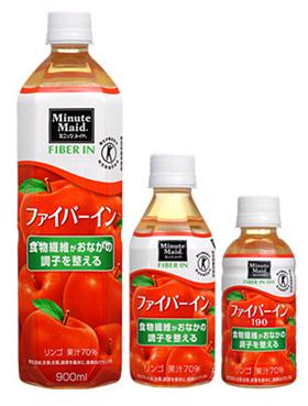コカ・コーラシステム  「ミニッツメイド ファイバーイン」900ml PET