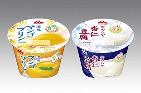 森永乳業「杏仁豆腐」「濃厚マンゴプリン」