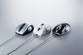バッファローコクヨサプライ 「フリップスクロール機能」を搭載したマウス