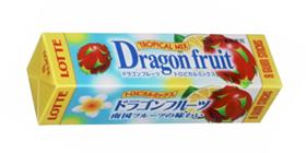 ロッテ「ドラゴンフルーツ トロピカルミックスガム」