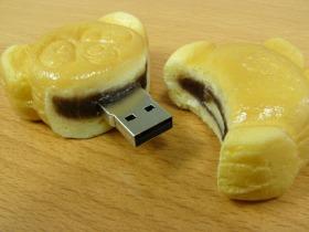 ソリッドアライアンス「パンダ焼USBメモリー」