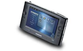 UMPCの代表的な機種Samusung(サムソン)のQ1。国内では未発売だ