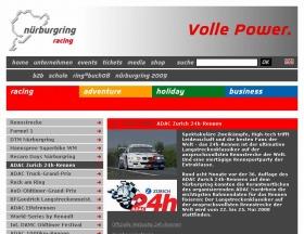ニュルブルクリンクの公式サイトでは同レースの説明もされている(ニュルブルクリンクの公式サイト)