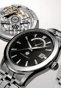 オリエント時計が発売する『ロイヤルオリエント フラッグシップモデル』