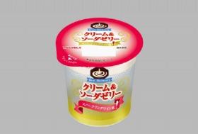 日本ミルク「クリーム&ソーダゼリー スパークリングワイン風」