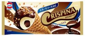 森永乳業「クリスピーナ 生チョコソース入り」