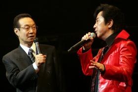 神谷さん(左)と水木さん(右)が「スパロボ」の17年間を振り返っていた