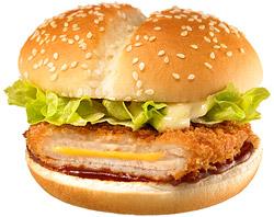 日本マクドナルド「チーズカツバーガー」