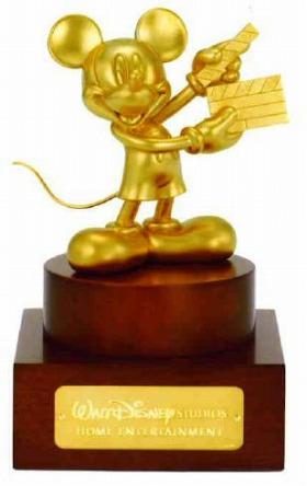 田中金属ジュエリー「黄金のミッキーマウス像」