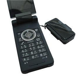 携帯ストラップとして持ち運べるほど、小さくて軽い