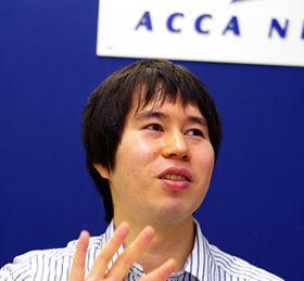 「新しい企画をどんどん打ち出していきたい」というアッカの阿部聡也さん