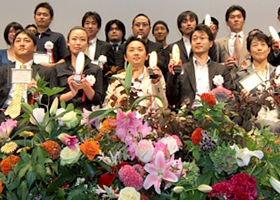 2007年の「第5回Webクリエーション・アウォード」授賞式の様子