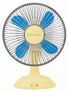 グリーンハウスが発売するUSB扇風機