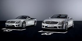 「SL 63 AMG」(左)「SL 65 AMG」(右)