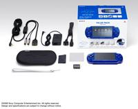 PSP『メタリック・ブルー』バリューパック