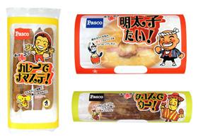 敷島製パン「チョイ辛フェア」シリーズ3品
