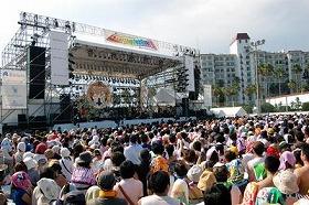2007年の逗子マリーナライブフェスティバルの様子