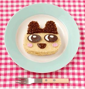 「たまごっちのふわふわオムレットケーキ」完成イメージ