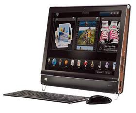 日本ヒューレット・パッカード「HP TouchSmart PC IQ500jpシリーズ」