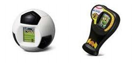 日本マクドナルド「マック・デジ2」 サッカー(左)と野球(右)