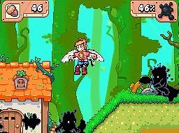 「ドローン トゥ ライフ」のゲーム画面