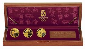 泰星コイン「北京2008オリンピック競技大会公式記念コイン」