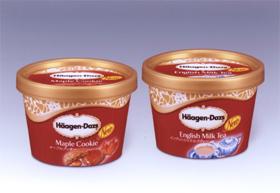 ハーゲンダッツ ジャパンのミニカップのアイスクリーム2品