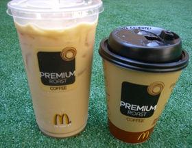 ホットもアイスもおいしいマクドナルドのコーヒー