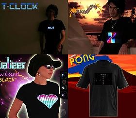 StrapyaNext「光るTシャツシリーズ」