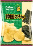 カルビー「ポテトチップス 韓国のり味」