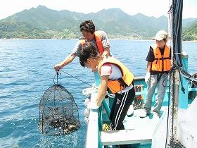 漁で釣った魚は持ち帰りが可能