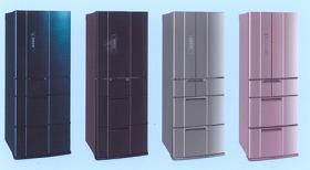 三菱電機「熱いまま『急っと』瞬冷凍」を搭載した5タイプの冷蔵庫